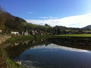 Tintern i Wales